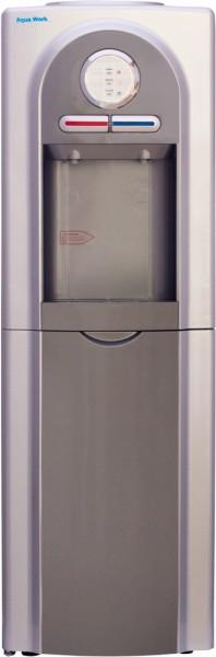 Напольный кулер для воды Aqua Work 5-VB серый с электронным охлаждением