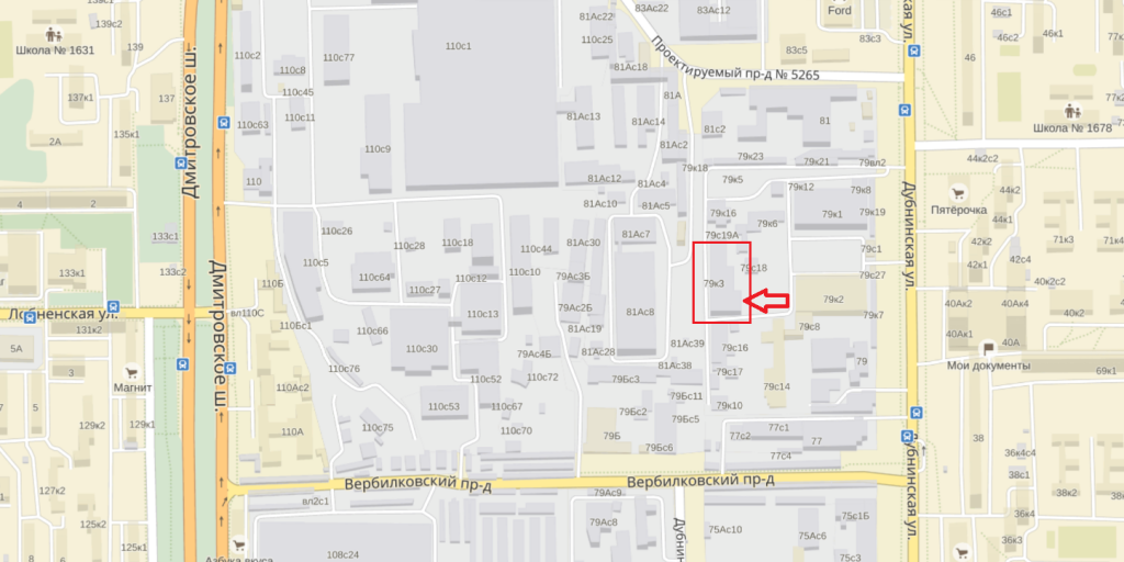 Карта офиса VseKulery.ru