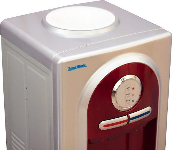 Напольный кулер для воды Aqua Work 5-VB красный с электронным охлаждением