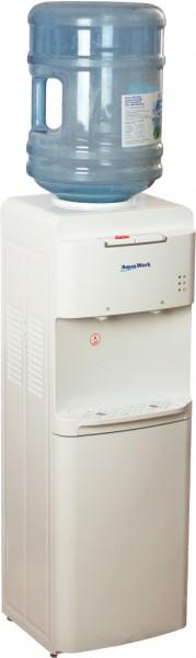 Напольный кулер для воды Aqua Work 1536-S с компрессорным охлаждением
