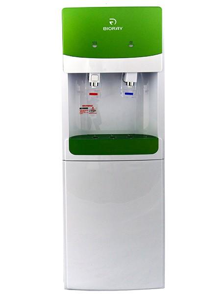 Кулер для воды BIORAY WD 3107E бело-зеленый напольный (2)