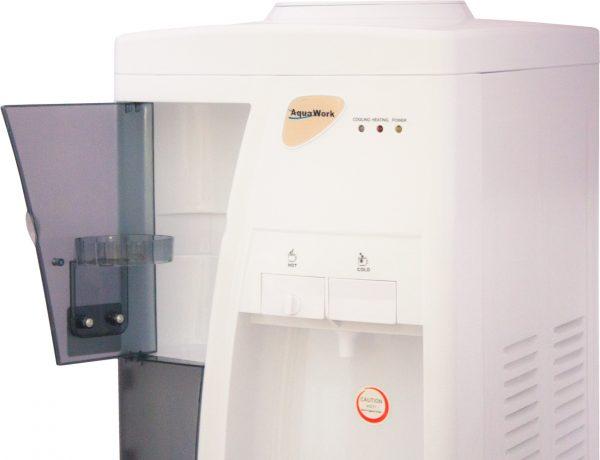 Напольный кулер для воды Aqua Work 3-W с электронным охлаждением белый