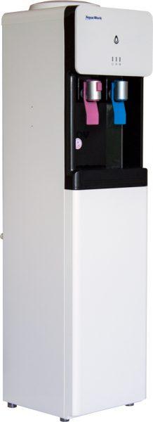 Напольный кулер для воды Aqua Work 1533-S с нагревом и компрессорным охлаждением
