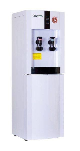 Напольный кулер для воды Aqua Work 16-LDP/EN белый с нагревом и электронным охлаждением воды
