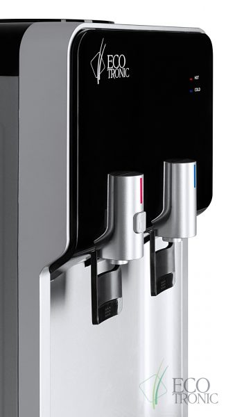 Кулер Ecotronic M40-LCE black+silver 8