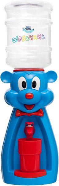 Диспенсер «Мышка» (голубая с красным) 1
