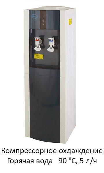 Кулер Aqua Well 16L-E AW ПК белый-серый